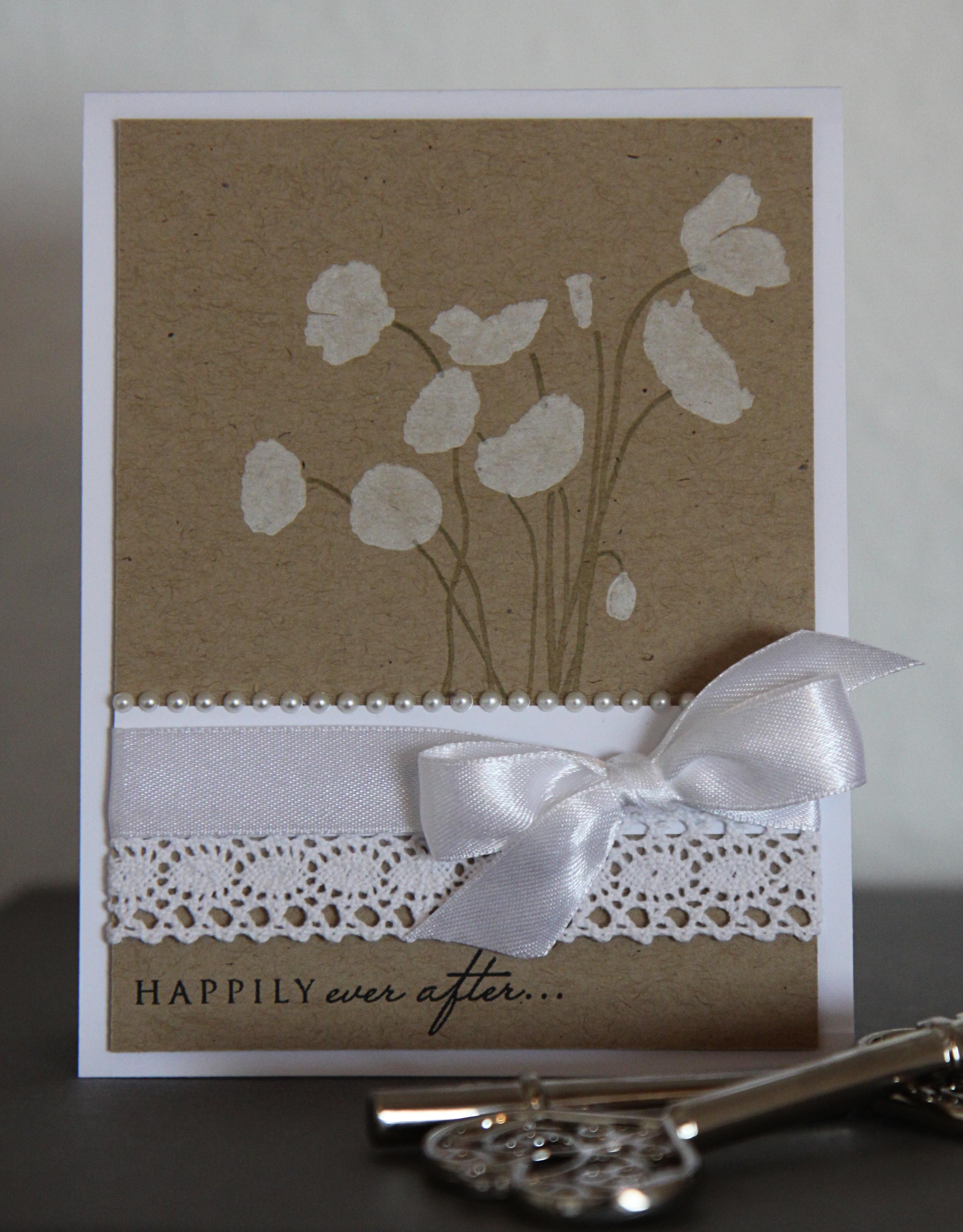 Bryllupskort på bestilling